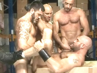 So Unshaved So Hung So Manly Foursome