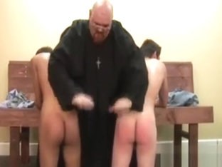 Altar boys learn to spank and suck