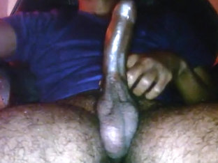 My hard dick pre-ejaculation cum