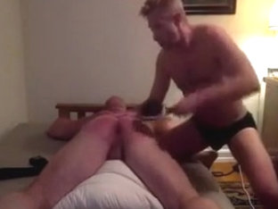 Master Teaches His Muscle fetish a Lesboy Head