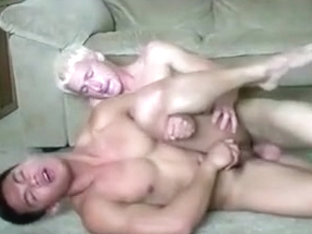 hot blond and asian duo