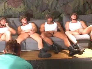 Military Wank Party!!