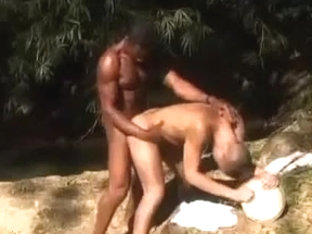 Hot sex by the creek