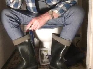 nlboots - just rubber boots & underwear