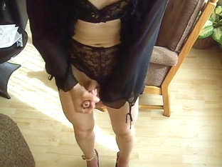 Rukken in lingerie