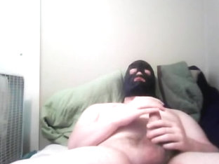 Jerk Off in Mask - Pt two: Livecam