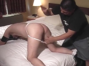 Sensual Gay Man Has His Ass Finger Fucked On Bed