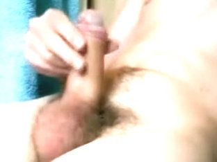 Boy Cums In Condom