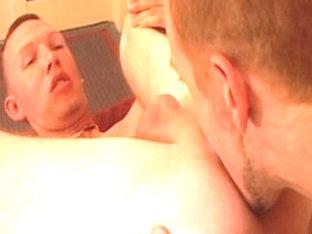 Incredible male pornstar in horny rimming, blowjob homo sex clip