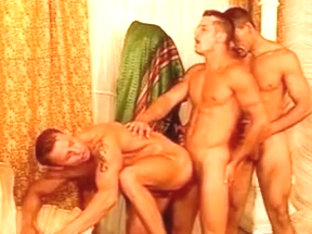 Exotic male in hottest group sex homosexual xxx clip