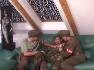 Army threesome