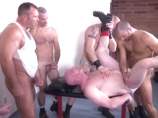 Incredible homemade gay clip with Hunk, Group Sex scenes