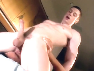 Horny male in fabulous action, amature gay porn scene