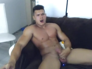 Crazy homemade gay video with Webcam, Solo Male scenes