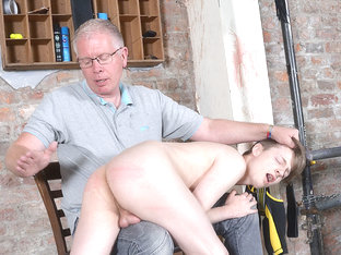 New Twink Spanked Red Raw! - Lyle Boyce And Sebastian Kane - Boynapped