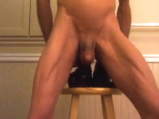 Double Wazoo Fuck Extraordinary with Huge Dark Schlong Dildos