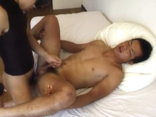 Hottest Asian gay dudes in Exotic masturbation, twinks JAV movie