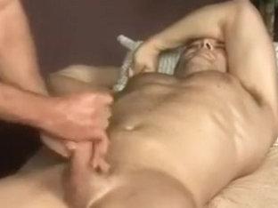 stroking str8 meat 2