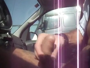 Trucker Flashing 6 - Getting caught by truckers