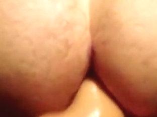 Curved Cock Bareback and Dildo POV