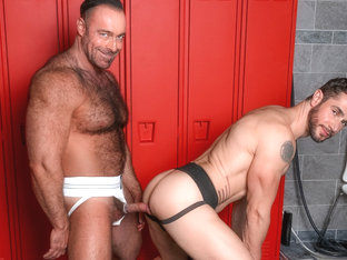Dean Monroe & Brad Kalvo in Fur Worship Video