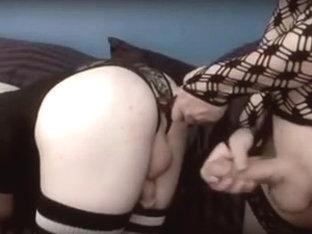 Cute femboys suck and fuck bareback