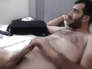 Masturbating Turkey-Turkish Bear Hung Erhan Hard Jack Off