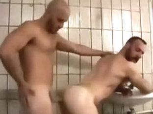 Horny male in fabulous big dick homosexual porn scene