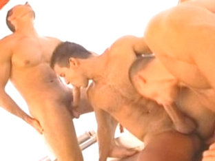 Amazing male pornstar in crazy group sex, blowjob gay adult video