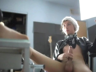 Best male in crazy handjob, amateur homosexual porn video