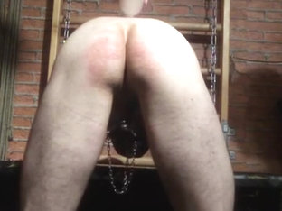 Getting spanked during a session