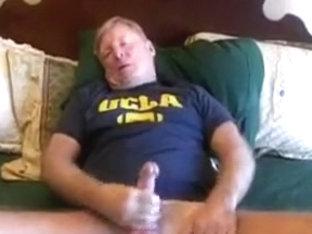 wanking in bed