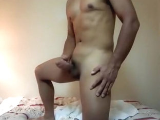 Sexy Guy who are Jacking off at Hotel during Business Trip