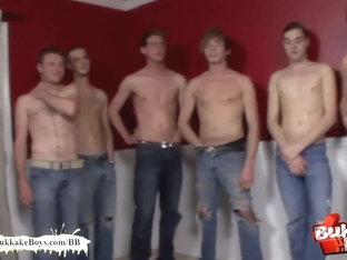 Bukkake Boys - Double penetration freak