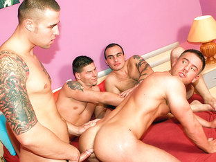 Nico Blade, Fernando Castallo, Chris Hacker, Win Soldier, Jeffry Branson XXX Video