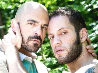 Adam Russo & Wolf Hudson in Daddy's Big Boy 2 Video