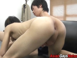 Asian twinks suck dicks