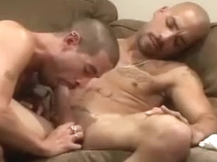 Hottest male in fabulous fetish, big dick homosexual sex video