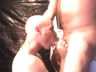 Exotic male pornstars Lex Kyler and Andrew Peters in horny bears, blowjob homosexual adult video