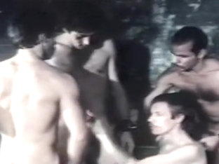 Horny amateur gay movie with Blowjob, Vintage scenes