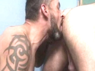 Hottest male pornstars Tom Colt and Ken Mack in fabulous bears, rimming homosexual sex clip