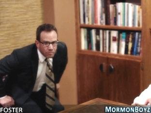 Mormon bishop fucks ass