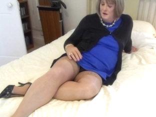 CD Carolyn in Stockings Cums - Cam 1 - Inc Orgasm