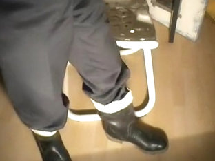 nlboots - socks, trousers (part of suit) and boots