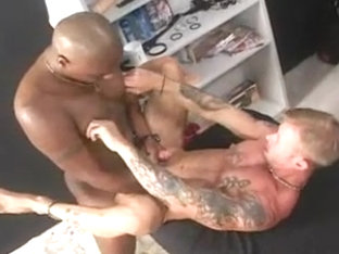 White thug taking monster dick