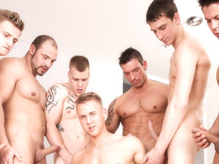 Ennio Guardi & Chris Hollander & Paul Fresh & Marek & Tomm & Marcos Rue & Benjamin in Gaykakke #02.