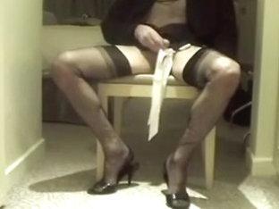 I wear black FF stockings to tease you