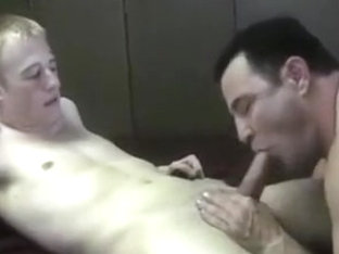 Nasty mandy breeds loud blond twink