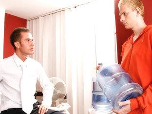 Frankie & Rico in Office Twinks Video