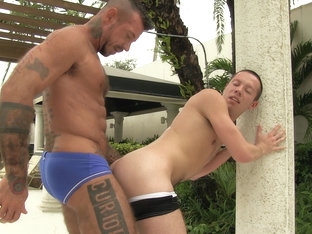 Daddy Ray Barebacks and Breeds Colton Suede - barebackmedaddy